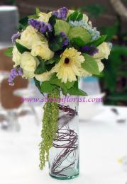 แจกันดอกไม้สด / Flower Vase-PV24