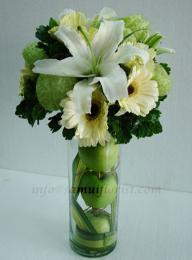 แจกันดอกไม้สด / Flower Vase  PV15
