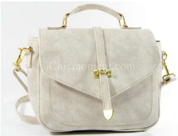กระเป๋าสะพายใบเล็ก รหัส FB-8229 สีขาว