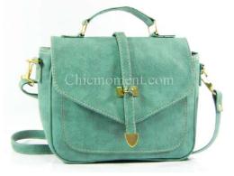 กระเป๋าสะพายใบเล็ก รหัส FB-8229 สีเขียวอ่อน