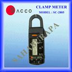แคล้มป์มิเตอร์ (แอมป์รุ่นเข็ม) SACCO 2805