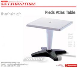 โต๊ะพลาสติก รุ่น Pieds Atlas Table