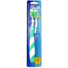 แปรงสีฟันรุ่น Wave (สีเขียวอ่อน)