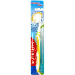 แปรงสีฟัน Compact (สีเหลือง)
