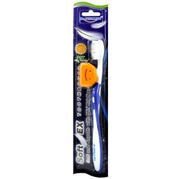แปรงสีฟันรุ่นซอฟท์เอ็กซ์ (สีน้ำเงิน)
