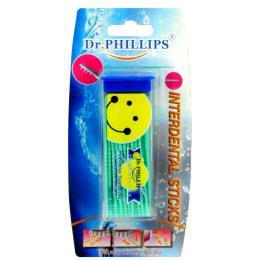 ไม้จิ้มฟันพลาสติก (สีน้ำเงิน)