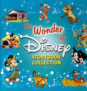 หนังสือต่างประเทศ The Wonder of Disney storybook collection  81-207-2915-3