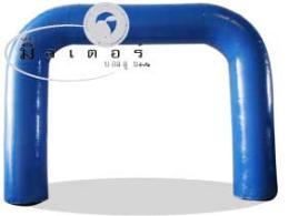 ซุ้มบอลลูนสี่เหลี่ยมพองลม -สีน้ำเงิน