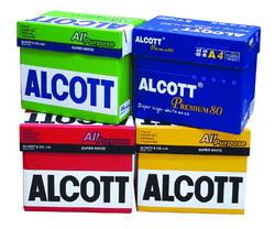 กระดาษถ่ายเอกสาร Alcott 80gm. A4