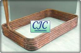 Coil Boiler ท่อทองแดง Copper tube งานสั่งทำ