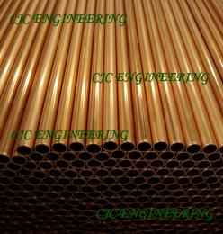 ท่อทองแดงเส้นตรง ท่อทองแดงไร้ตะเ็ข็บ ท่อทองแดงASTM B88