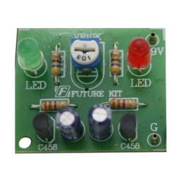 วงจรไฟกระพริบ LED 2ดวง