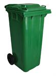 ถังขยะฝาเรียบมาตฐานสุขาภิบาล P120-01/W