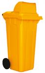 ถังขยะฝาเรียบมาตรฐานสุขาภิบาล P120-02/W