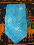 เน็คไทผ้าไหมลายพื้นเมือง  ND-049