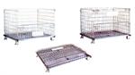 ตะแกรงเหล็กพับได้ Foldable Wire Mesh Containers (PCF-0810W)