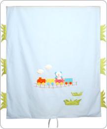 ผ้าห่มปก Trains AB - 3001