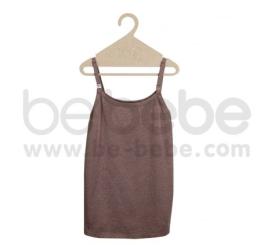 เสื้อสายเดี่ยวคลุมท้อง ให้นมลูกผ้ายืด Cotton Topdyed Spandex