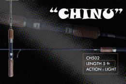 คันตกปลาเกร็ด CHINU (ชินุ)