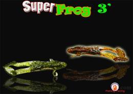 เหยื่อปลอม กบยางตีนโต SUPER FROG