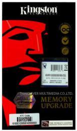 หน่วยความจำ Kingston DDR3(Bus 1600 MHz.) 4GB