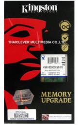 หน่วยความจำ Kingston DDR3(Bus 1333 MHz.) 2GB
