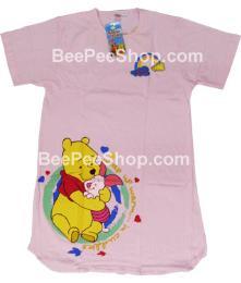 ชุดนอนลายหมีพูห์ PH0021