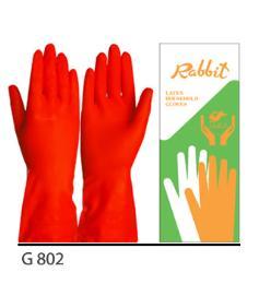 ถุงมือยาง G801
