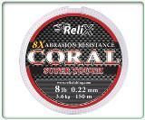 สายเอ็นตกปลา Coral Scather 8 X