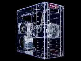 เคสคอมพิวเตอร์ Sunbeam 9-Bay Acrylic Case