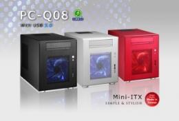 เคสคอมพิวเตอร์ PC-Q08 Mini-DTX Mini-ITX