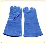 ถุงมือหนังท้องป้องกันความร้อน รุ่น LG-HG1413B