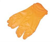 ถุงมือยางส้ม