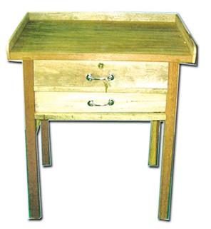 โต๊ะทำทองสองลิ้นชัก