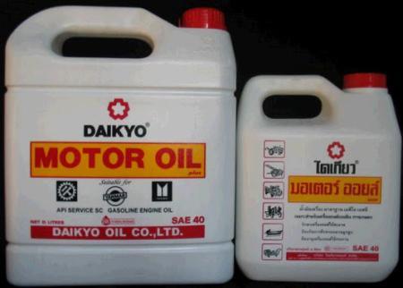 น้ำมันเครื่อง Daikyo Motor Oil plus
