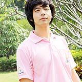 เสื้อยืด คอโปโล สีชมพูอ่อน B010