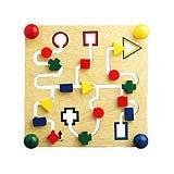 ของเล่นฝึกสมาธิ MISC SHAPE LABYRINTH BOARD 95136
