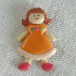 โมเดลตุ๊กตาเด็กหญิงผมยาวติดแม่เหล็ก 0 00 00 005 5173