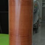วอลเปเปอร์สติ๊กเกอร์ ลายไม้สักน้ำตาลส้ม MDP-2651