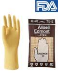 ถุงมือยาง Ansell รุ่น DUZMOR 45