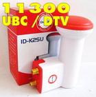 หัวรับสัญญานLNBF-KU Band ideachun 11300 TWIN UBC-DTV