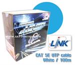 สายแลน CAT 5E LINK 100ม. (ภายในอาคาร)
