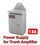 อุปกรณ์ขยายสัญญาณระบบ Power Supply for Trunk Amp CABLE 13A, 63V