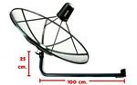 เสาตั้งจาน C-Band แบบยาว 120 cm.