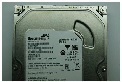 ฮาร์ดดิสก์ Seagate SATA 250GB-ST250DM000