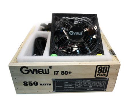 พาวเวอร์ซัพพลาย Gview Power Supply i7 80+ 850 W