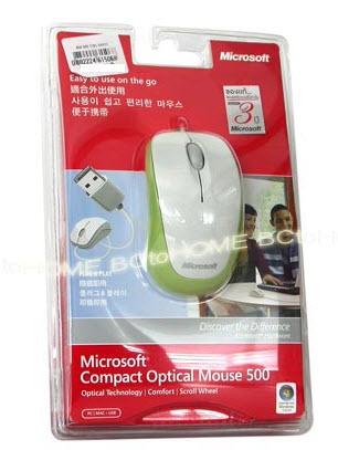 เมาส์ Compact Optical Mouse 500-GR