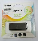 แฟลชไดร์ฟ 2GB Apacer AH325 USB Black