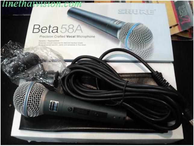 ไมโครโฟน SHURE BETA 58 A
