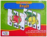 เกมส์จิ๊กซอจับคู่ภาพคำศัพท์ผลไม้ Match it Fruit